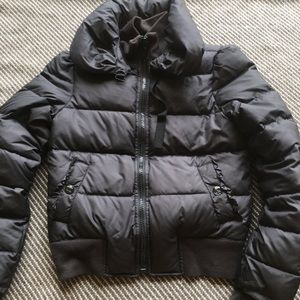 Juicy Couture Bomber Down Jacket